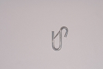 U HOOK WITH SNAP LATCH, 6mm (1/4