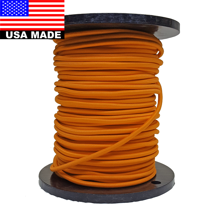 8mm 5 16 Quot Bulk Colored Bungee Cord By The Roll 300