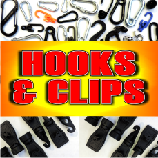 hooks and clips