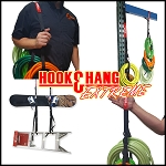 "Hook & Hang Extreme, USA Made Heavy Duty Strap with (4) Large 30"" Loops & (4) Buckles to Organize Cords, Tools, Hoses and Much More!"