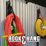 HOOK & HANG - BUNGEE CORD ORGANIZER - PACK of 3 - (2) 14