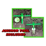 SPIRAL ANCHOR TOOL - RV & AWNING SAVER PART