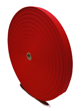 "1"" x 300' NYLON LIGHT WEIGHT STRAP WEBBING MATERIAL (MAY NOT BE CONTINUOUS)"
