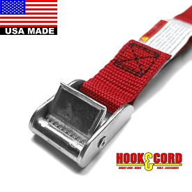 "1"" x 36"" RED STANDARD DUTY CINCH STRAP"