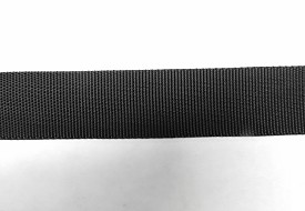 "2"" FLAT NYLON STRAP WEBBING MATERIAL- BY THE FOOT (MAXIMUM LENGTH 200')"