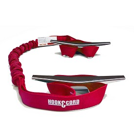 "NEW & IMPROVED - TWO 30"" BUNGEE BOAT DOCK TIES with TWO STITCHED LOOPED ENDS"