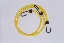 "9mm (3/8"") 3 HEAVY DUTY SPRING HOOKS & 24"" BUNGEE CORD"