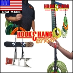 "Hook & Hang Heavy Duty Strap, USA Made Strap with (4) Large 30"" Loops & (4) Buckles to Organize Electrical Cords, Tools, Hoses and Much More!"