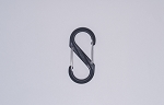 #4 PLASTIC DOUBLE LATCH CARABINER