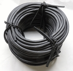 3/8 in. EPDM RUBBER ROPE - LONG LASTING IN EXTREME CONDITIONS • 100' or 150'