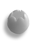 IMPORT TOGGLE BALL - White (25mm)