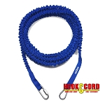 BOAT LINES & DOCK TIES - Boat Anchor Line Bungee Cord 25' Line, Stretches to 50', Heavy Duty Anchor Line