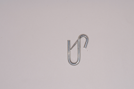 "U HOOK WITH SNAP LATCH, 6mm (1/4"")"