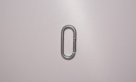 "STRAIGHT SPRING SNAP HOOK, 4mm (3/16"")"