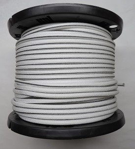 "3/8"" Marine Grade Polypropylene Bungee Cord with Ribbed Outer Jacket - 300' Roll"