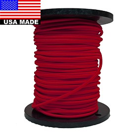 "9mm (3/8"") NYLON BULK COLORED BUNGEE CORD BY THE ROLL (500')"